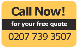 Call now for your free quote - 0207 739 3507