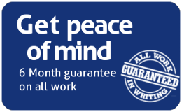 6 month guarantee on all work